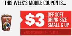 $3 OFF Soft Drink at Regal Cinemas on http://www.icravefreebies.com/