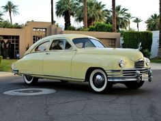 '49 Packard Deluxe Eight ... Bodied by Briggs and based on the preceding Clipper, with original L-head straight 8.