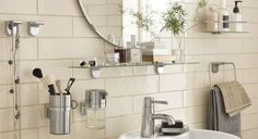 Pin for Later: Ikea's April 2015 Releases Will Blow Every Member of the Family Away  Sleek and functional Kalkgrund accessories are just what you need to get your bathroom in order.