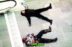 Captain America: Civil War -Bucky & Sam. I loved this part! 2/2