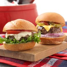 Make perfect #hamburger #sliders every time with this recipe.