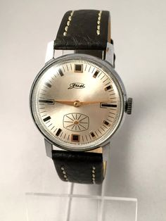 """This is a vintage watch ZIM- VICTORY ( """"Pobeda"""") made in USSR. This watch is in a fully working order. Mechanical movement, manual winding. Lovely"""