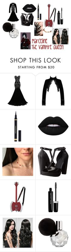 """""""Marceline"""" by maddie-hatter23 on Polyvore featuring Yves Saint Laurent, Lime Crime, Melissa and Marc Jacobs"""