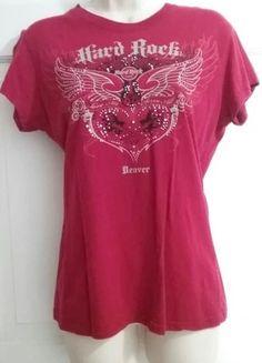 e6ab92cc0fcb74 Red Hard Rock Cafe Denver Shirt Hard Rock