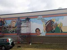 Packer Mural to be Completed by Early October in Wittenberg