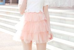 Imagem de pink, cute, and skirt