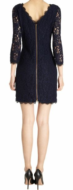 This Diane von Furstenberg Zarita Dress is absolutely p-e-r-f-e-c-t for the holidays
