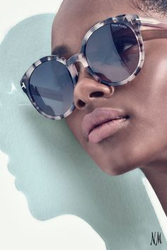 fc9272dce5fe Let the sun shine on with Tom Ford. The Philippa Two-Tone Sunglasses are