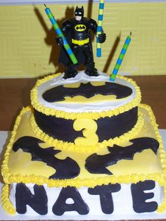 here it is!!  Nathan's cake for his 3rd birthday - party no. 1