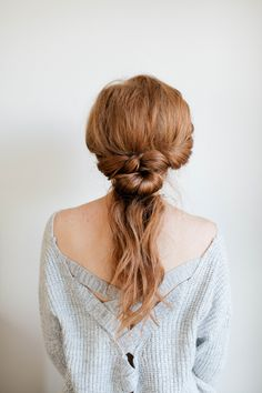 This step-by-step tutorial will show you how to create an enhanced ponytail that goes from a day at work to a night on the town.
