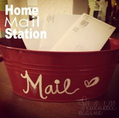 Cute Mail Holder idea
