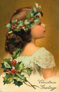 Vintage card, 1900  → For more, please visit me at: www.facebook.com/jolly.ollie.77
