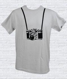 Camera Crazy Photography Lover Men s Tshirt by theboldbanana Yearbook  Shirts 70bb99edc05