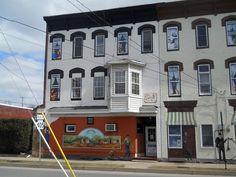 The Stetler Bar Milton Pennsylvania Usa Street Art North America Pinterest