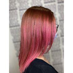 Fantasy Hair Color, Balayage Hair, Pink Hair, Anna, Dreadlocks, Long Hair Styles, Beauty, Rosa Hair, Long Hairstyle