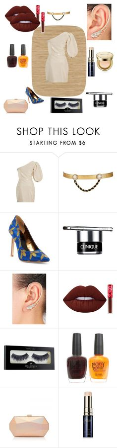 """Untitled #926"" by yasm-ina ❤ liked on Polyvore featuring York Wallcoverings, Zeynep Arçay, Maison Mayle, Nine West, Clinique, Lime Crime, Illamasqua, Piggy Polish, Clé de Peau Beauté and AmorePacific"