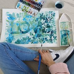 314 Likes, 29 Comments - It's me Emi Illustration Art, Watercolor, Floral, Artwork, Design, Painting, Instagram, Pen And Wash, Watercolor Painting
