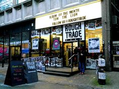Rough Trade East, a indie record shop in London - from 'London on a Budget'