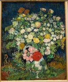 Vincent van Gogh - Vase of flowers 1889-90