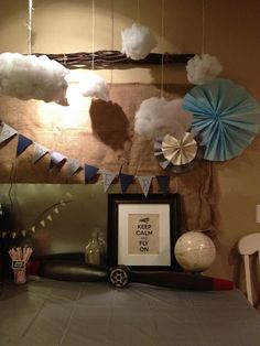 The Vintage Fern: Vintage Airplane Baby Shower and Party Tips