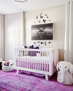 A Sophisticated and Soothing Nursery by Edyta Czajkowska | Rue