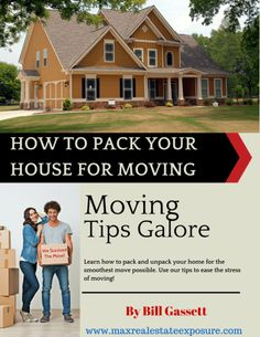 How to Pack Your House For a Move. #moving #movingtips