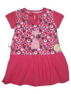 Mädchen Kleid Gr. 110 Jersey von Me Kinderkleidung auf DaWanda.com