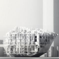 #MArch Graduate 2GA Studio Project by Aaron Choi & Kaiho (Jiahao) Yu Instructor: Russell Thomsen @SCIArc feed curated by @houseofzka