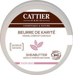 Cattier Paris Sheabutter 100% biologisch Travel Size