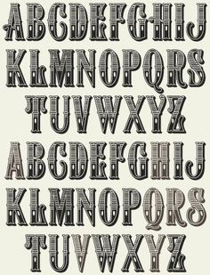 Image result for hand lettering old style