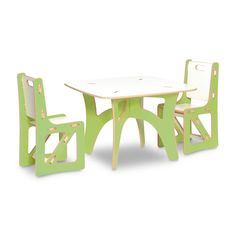 {Sprout Kids Table and Chairs Set} eco-friendly + simple design