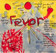"Favor original art. Markers, acrylic, watercolor on 9"" square watercolor paper.  ***Original is SOLD***"