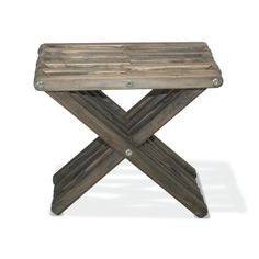 Stool X30 - Wild Black The Stool X30 is attractive, functional, durable, eco friendly and 100% made in the USA! This sturdy sitting stool arrives partially assembled at your home needing only a final touch to be ready for use! Conceived by the Brazilian designer Ignacio Santos, the Stool X30 is crafted from Eco Friendly Premium Yellow Pine wood from Alabama, stainless steel and built to last a life time if well taken care of.