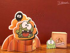 Cut the Rope Om Nom printables.