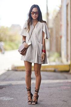 EstiloDF » Los mejores outfits para lucir unos Lace-up heels