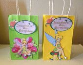 Tinkerbell Inspired Party Favor Goody bags (10)