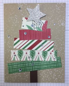 So Easy to cut and assemble.   Used This Christmas Specialty Designer Series Paper; but any Christmas paper will do.  Visit my blog:  http://djcardsandmore.typepad.com/my-blog/