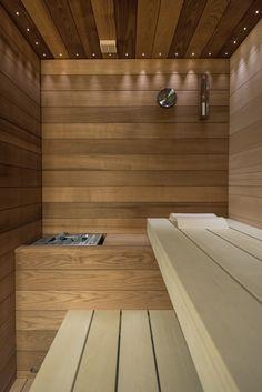 Sauna Evolution Particolare Panche