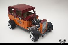 """""""Ford 32' Tudor Hot Rod scaled 1/10 in Lego"""" by bricksonwheels: Pimped from Flickr"""
