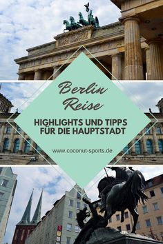 Berlin - man hasst die Hauptstadt oder man liebt sie. Heute habe ich die besten Insidertipps, Sehenswürdigkeiten und Tipps für Sightseeing für euch. Europe Travel Guide, Travel Destinations, Reisen In Europa, Worldwide Travel, Berlin Germany, Wonderful Places, Travel Inspiration, Vacation, Highlights