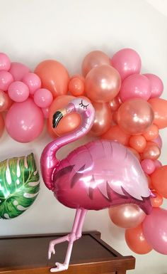 Home Decor Items Balloons make it so easy to decorate a shower! This flamingo can go with so many shower themes. I can't wait to get so much use out of it! Pink Balloons, Mylar Balloons, Balloon Garland, Balloon Decorations, Baby Shower Decorations, Flower Decorations, Handmade Home Decor, Home Decor Items, Flamingo Baby Shower
