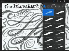 FREE Comic Ink Brush Set for Procreate: ELDER + 2 PARALINER + PENTALINER
