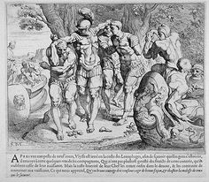 The Lotus-Eaters  17th century etching  Theodor van Thulden (1606 - 1669)  Fine Art Museum of San Francisco