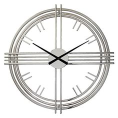 Claremont Wall Clock from Z Gallerie Z Gallerie Wall Clock, Clock Decor, Wall Decor, Minimalist Wall Clocks, Mirror Shop, Dining Room Walls, Living Room, Stylish Home Decor, Bedding Shop