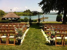 PHOTO ALBUM for Weddings at Ridges Resort in GA - Lakeside Ceremony Lawn by RidgesWeddings, via Flickr