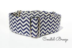 "Martingale Collar - Coastal Breeze, Greyhound Martingale Collar, Whippet Collar, 1.5"" martingale, 2 inch martingale, blue martingale collar on Etsy, $17.79"