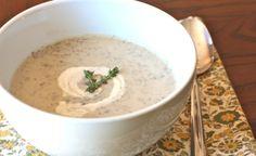 cream of mushroom soup (paleo, dairy-free)