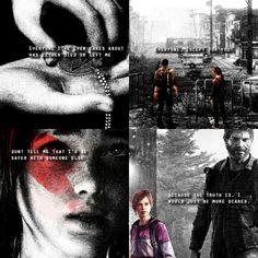 Joel  Ellie   The Last Of Us