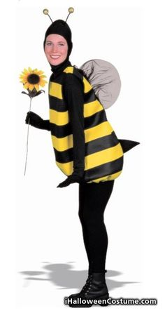 Women's Bumble Bee Costume - Halloween Costumes 2013