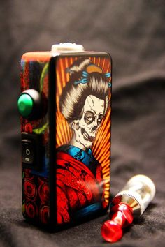 #whichecigarette SOLD] Silver Bullet Chrome | Silver Bullet Black | Vapecore Custom ...